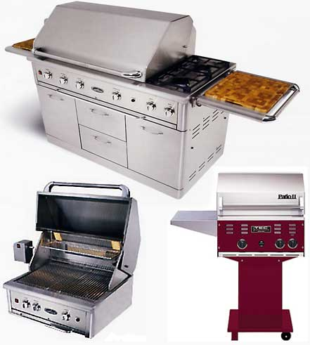 Basic Energy Fireplace Equipment: Portable or built-in barbeques)