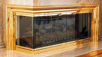 Basic Energy Fireplace-Expert installers of luxurious Glass Enclosures